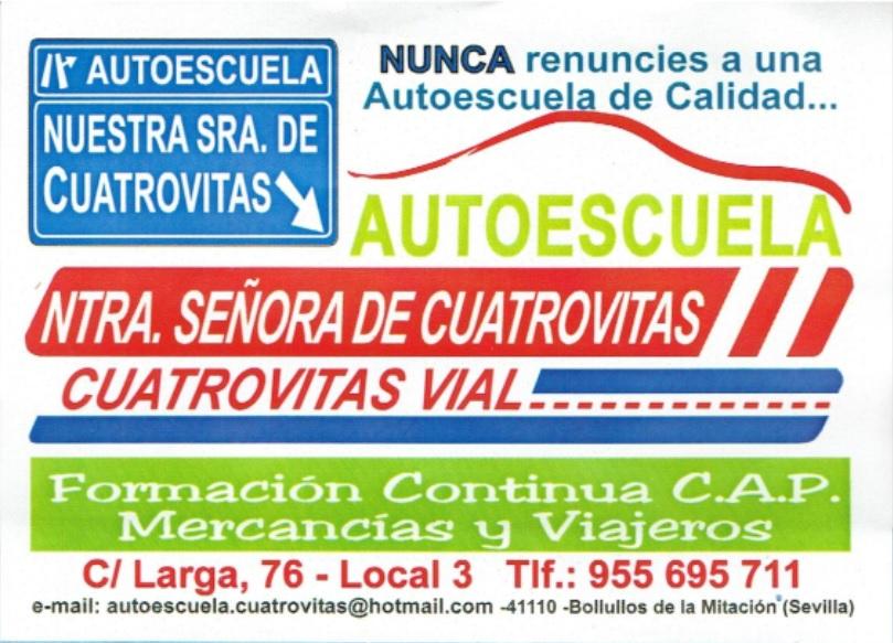 Autoescuela Cuatrovitas